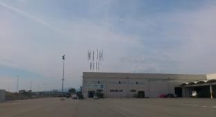 Vista desde aparcamiento simulación Baiwind mini-eólica Cooperativa de Cambrils