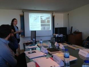 Angélica Bercetche de Transfer LBC presenta el proyecto Coop2020