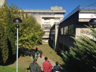 El edificio del campus de la USC en el que se lleva a cabo la demostración de LIFE OPERE