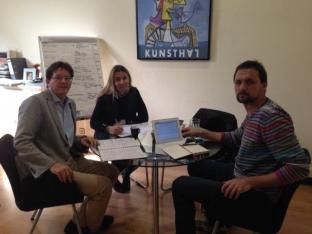 Reunión técnica con Atres80 en Barcelona