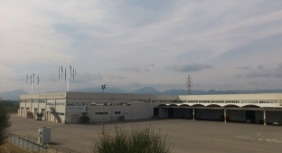 Simulación de los mini-eólicos Baiwind encima del edificio Cooperativa Cambrils