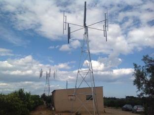Se finalizan las labores de los aerogeneradores en las fincas de Dalmau y Pau