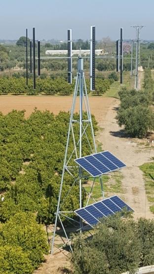 Instalada la energía renovable en la finca Pau