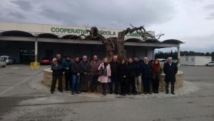 Visita de la Alcaldesa de Cambrils al proyecto LIFE Coop 2020