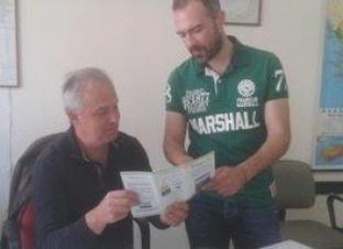 Reunión con la Asociación de Agricultura del municipio de Eordaia