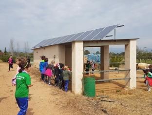 Visita escolar a las instalaciones de la Cooperativa de Cambrils