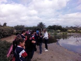 El colegio Marinada visita Cooperativa de Cambrils