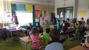 Visita al colegio Jaume II del Perello
