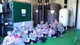 Alumnos de la Escuela La Marinada visitaron el proyecto Coop2020