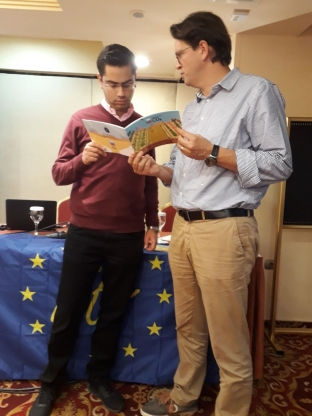 Actividades de cooperación en Grecia