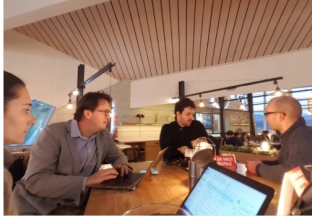 Reunión técnica en Bilbao