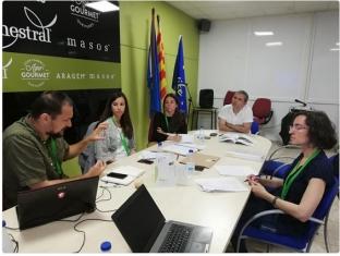 Última reunión SCM entre los socios y la monitora